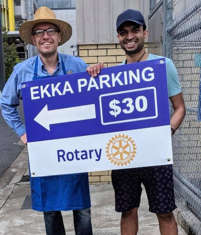 EKKA Parking 2019 Ben Tim